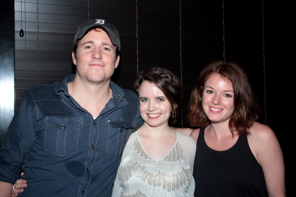 Patch Darragh, Phoebe Strole, Aubrey Dollar at RAPTURE, BLISTER, BURN Opens at Playwright's Horizons
