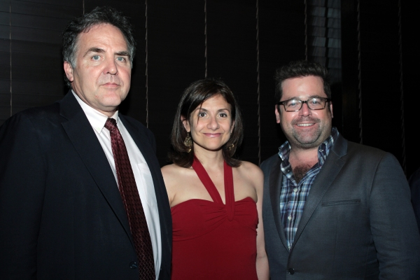Tim Sanford, Gina Gionfriddo, Peter DuBois at RAPTURE, BLISTER, BURN Opens at Playwright's Horizons