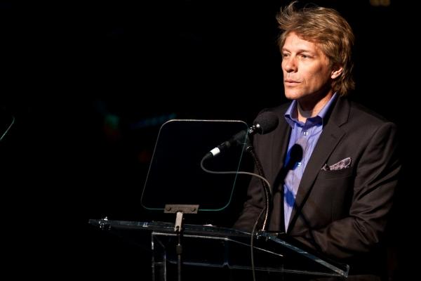 Jon Bon Jovi at Jeremy Jordan, Laura Bush & More Honor Jon Bon Jovi; Support Homeless Youth