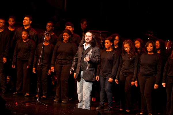 Danny Zolli at Jeremy Jordan, Laura Bush & More Honor Jon Bon Jovi; Support Homeless Youth