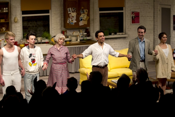 Photo Flash: Curtain Call & After Party for TORCH SONG TRILOGY Opening Night Feat. David Bedella