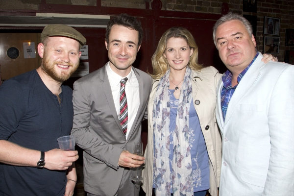 Michael Jibson, Joe McFadden, Caroline Sheen and Russell Labey