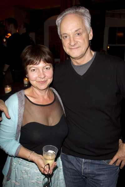 Tessa Peake-Jones and Malcolm Sinclair