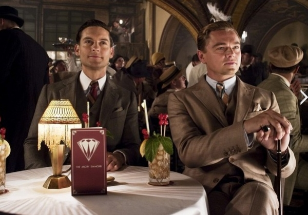 Tobey Maguire & Leonardo DiCaprio at New Photos Released for THE GREAT GATSBY