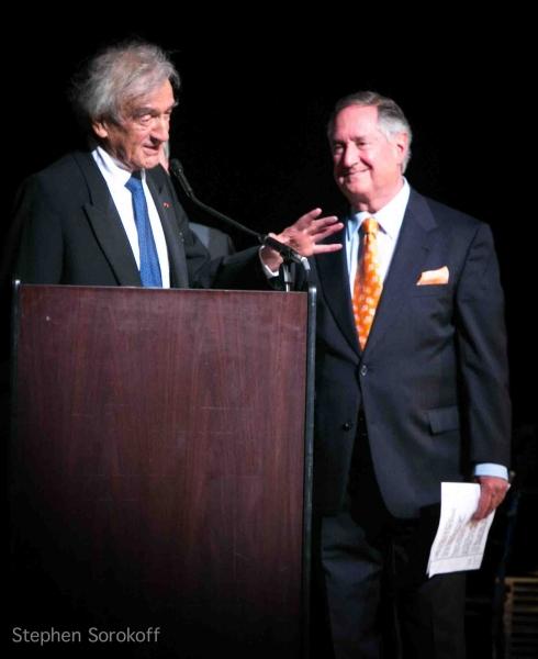Elie Wiesel, Neil Sedaka at National Yiddish Theatre Honors Neil Sedaka