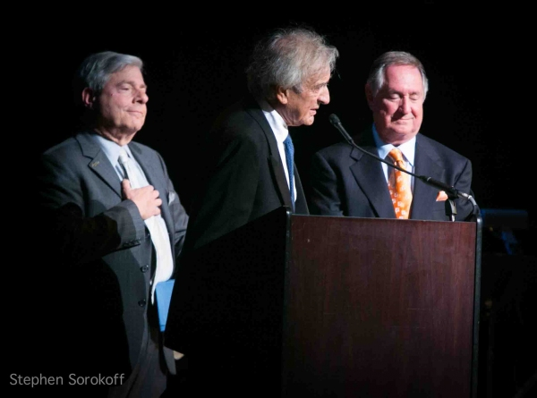 Marty Markowitz, Elie Wiesel, Neil Sedaka at National Yiddish Theatre Honors Neil Sedaka