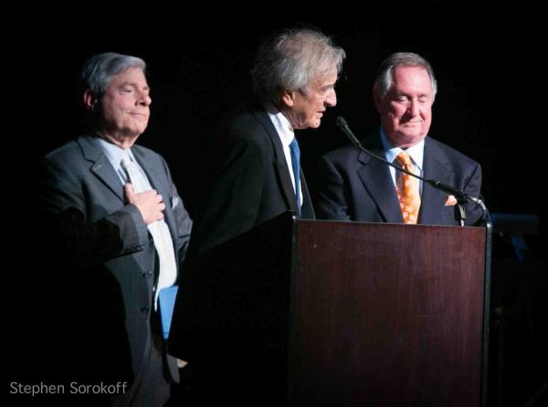 Marty Markowitz, Elie Wiesel, Neil Sedaka