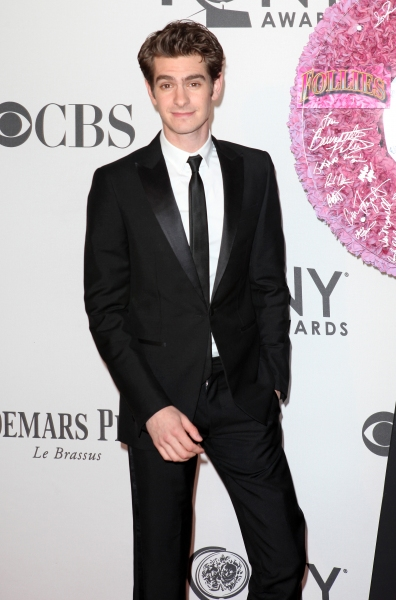 Andrew Garfield  at 2012 Tonys - What the Stars Wore; Fashion Hits & Misses!