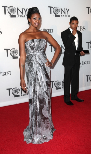 Condola Rashad  at 2012 Tonys - What the Stars Wore; Fashion Hits & Misses!