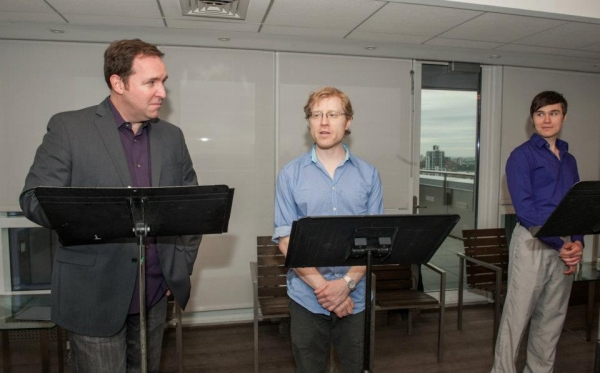 Photo Flash: Anthony Rapp Takes Part in THE PRIDE Reading