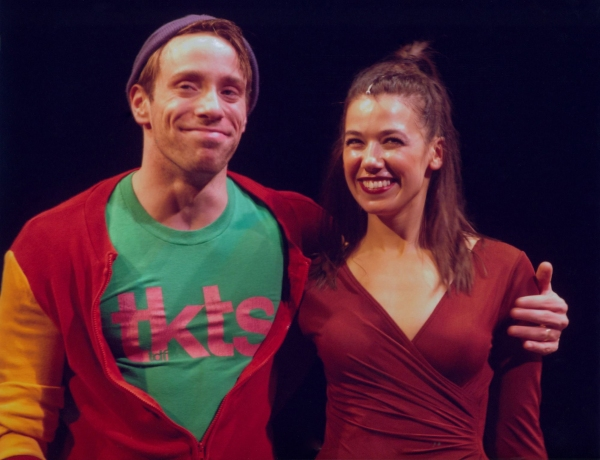 Michael Warrell and Courtney Romano