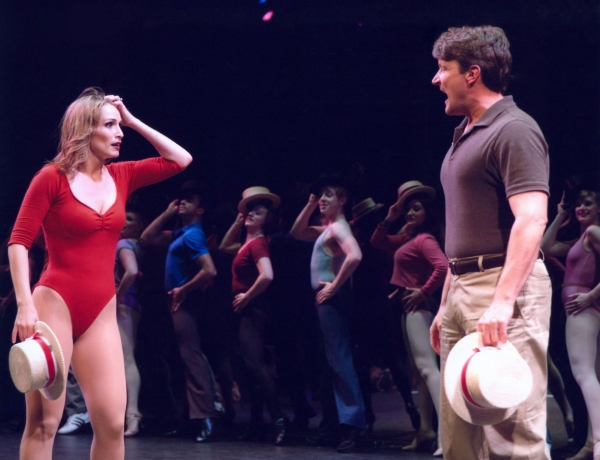 Rebecca Riker and Curt Dale Clark at  Donna Drake, Michael Gorman, et al. in MSMT's A CHORUS LINE!