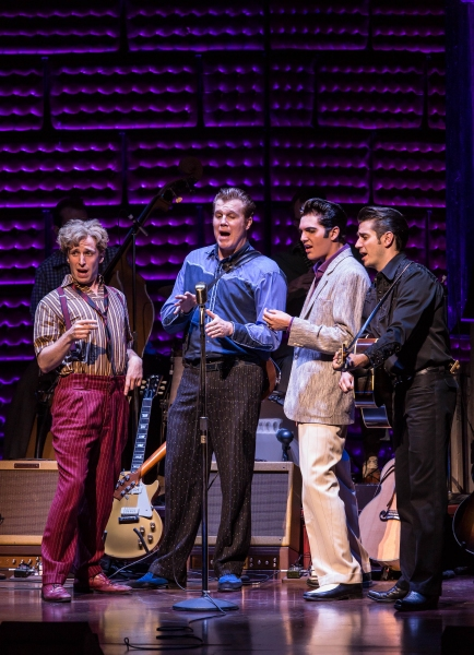 Photo Flash: MILLION DOLLAR QUARTET Plays Smith Center!
