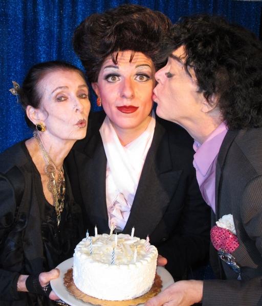 Margaret O'Brien, Peter Mac as Judy Garland and actor Randal Malone  Photo