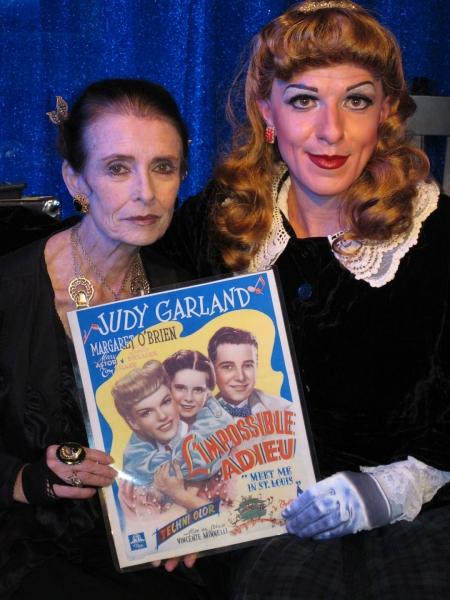Margaret O'Brien and Peter Mac as Judy Garland Photo