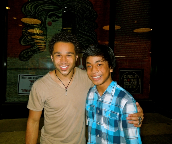 Corbin Bleu (currently plays Jesus), Jon Viktor Corpuz