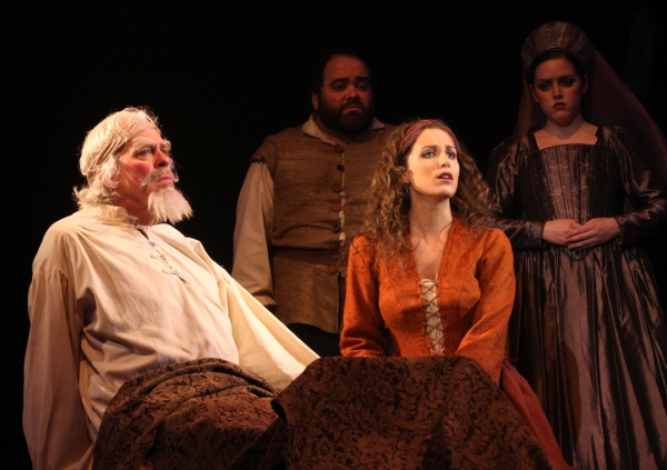 Terrence Mann, Richard Ruiz, Alix Paige and Megan Moran