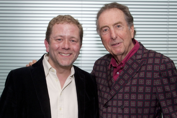 Jon Culshaw and Eric Idle at Jon Culshaw & Eric Idle Gear Up for West-End SPAMALOT