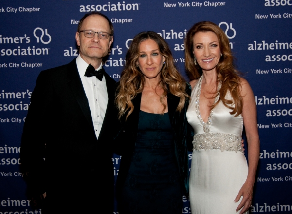 David Hyde Pierce; Sarah Jessica Parker; Jane Seymour at David Hyde Pierce, Victor Garber, et al. at Forget-Me-Not Gala