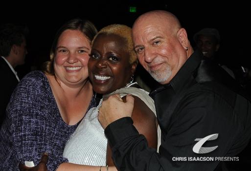 Christina Burke, Lillias White and Gerald Sternbach
