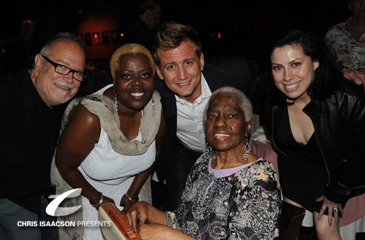 Ronn Goswick, Lillias White, Chris Isaacson, Linda Hopkins and Jessica Amezcua