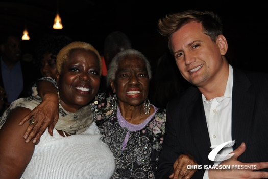 Lillias White, Linda Hopkins and Producer Chris Isaacson at Upright Cabaret Presents Tony Winner Lillias White