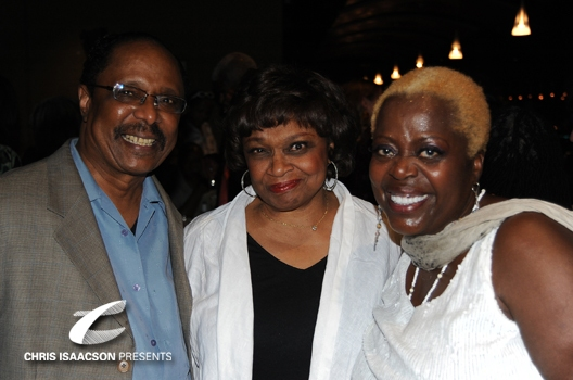 Harold Wheeler, Hattie Winston and Lillias White at Upright Cabaret Presents Tony Winner Lillias White