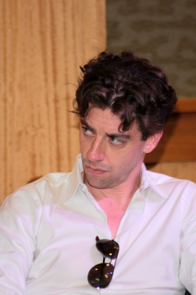 Photo Coverage: Christian Borle, Celia Keenan-Bolger & Adam Chanler-Berat Promote Newly Published PETER AND THE STARCATCHER Script at Barnes & Noble