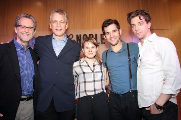 Ridley Pearson, Rick Elice, Celia Keenan-Bolger, Adam Chanler-Berat, Christian Borle