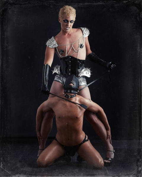 Photo Flash: Sneak Peek at Terence Sullivan as Frank N Furter in Firehouse Theatre Project's ROCKY HORROR SHOW