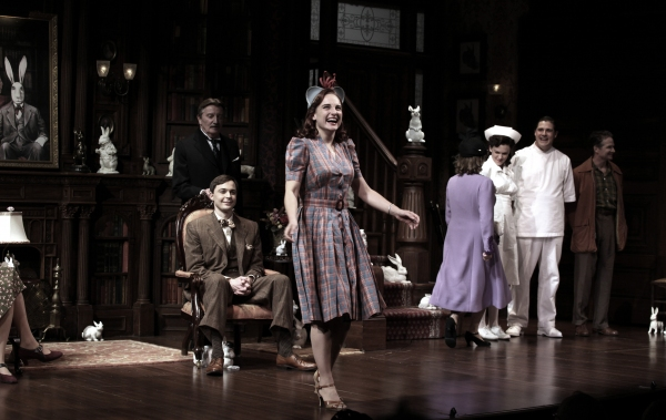 Tracee Chimo, Charles Kimbrough, Jessica Hecht, Jim Parsons, Larry Bryggman, Carol Kane, Holley Fain, Rich Sommer & Company