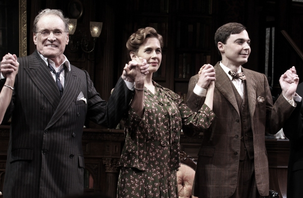 Charles Kimbrough, Jessica Hecht & Jim Parsons