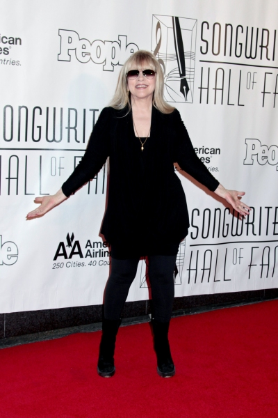 Stevie Nicks at Bette Midler & Cheyenne Jackson at the Songwriters Hall of Fame Awards Gala