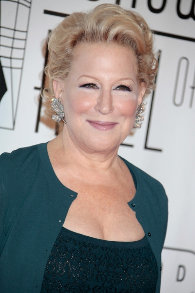 Bette Midler at Bette Midler & Cheyenne Jackson at the Songwriters Hall of Fame Awards Gala