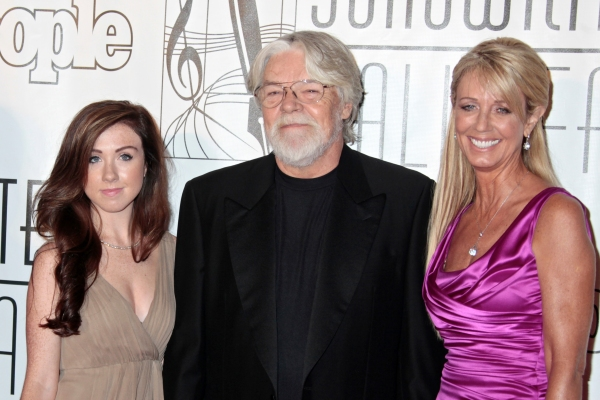 Bob Seger, wife Nita and daughter Samantha