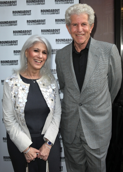 Jamie DeRoy & Tony Roberts  at Stars on the HARVEY Opening Night Red Carpet