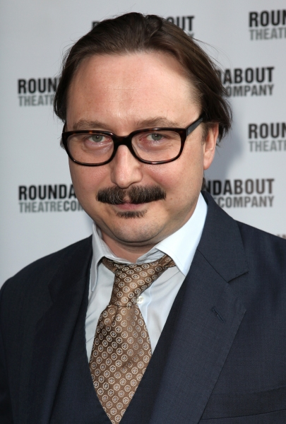John Hodgman at Stars on the HARVEY Opening Night Red Carpet