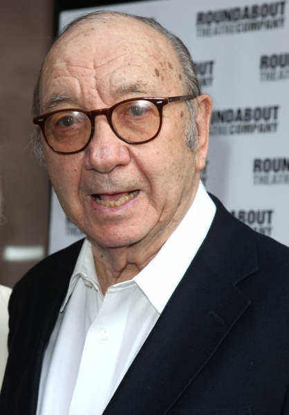 Neil Simon at Stars on the HARVEY Opening Night Red Carpet