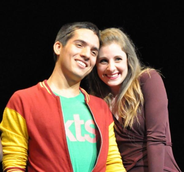 Philip daCosta and Maria LaRossa