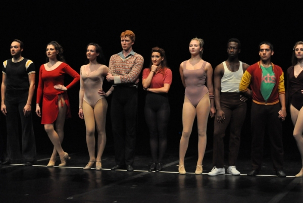 Photo Flash: Lorenzo Lamas in Final Dress Rehearsal of A CHORUS LINE  - Opens Tonight!