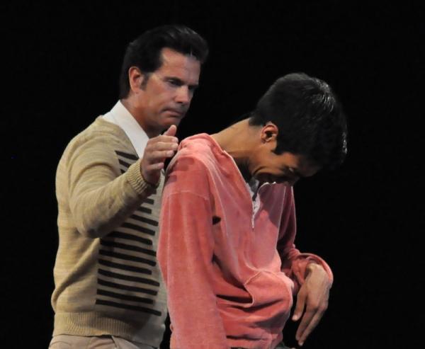 Lorenzo Lamas and Scott Abreu Photo