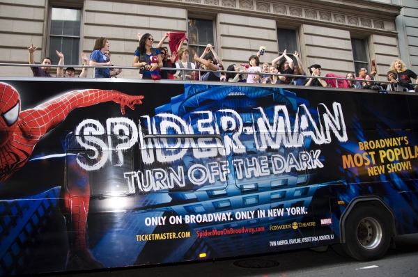 Photo Coverage: SPIDER-MAN Celebrates One Year on Broadway