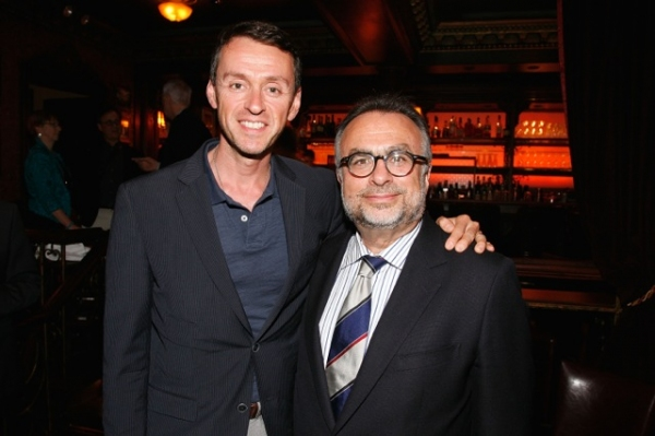 Andrew Lippa, Richard Frankel at Mandy Patinkin, Jane Krakowski, et al. Visit 54 Below!