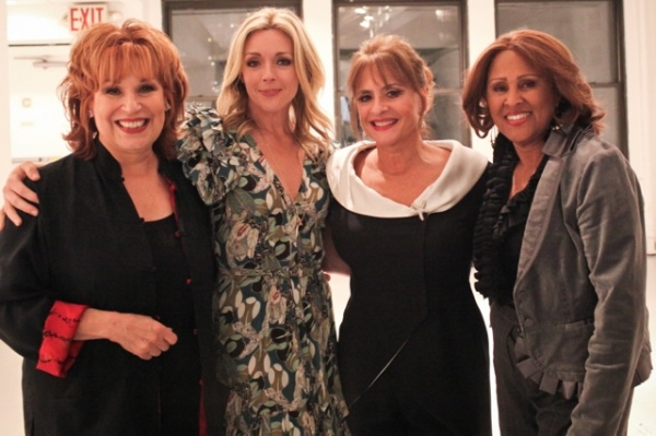 Joy Behar, Jane Krakowski, Patti LuPone, Darlene Love at Mandy Patinkin, Jane Krakowski, et al. Visit 54 Below!