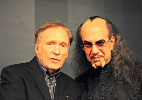 Dick Cavett and Max Maven