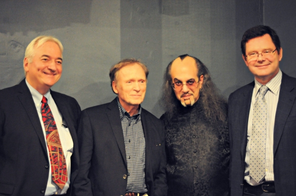 Producer/director Alexander Marshall, Dick Cavett, Max Maven and producer Giles Cole