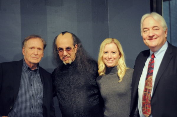 Dick Cavett, Max Maven, Melanie Crispin (who is also in the show) and producer/director Alexander Marshall