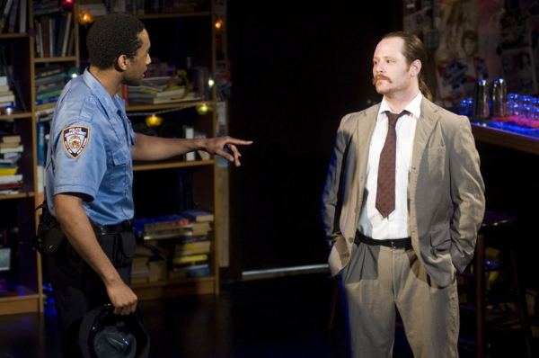 Jordan Tisdale and William Apps  at The Amoralists' THE BAD AND THE BETTER Begins Previews Off-Broadway