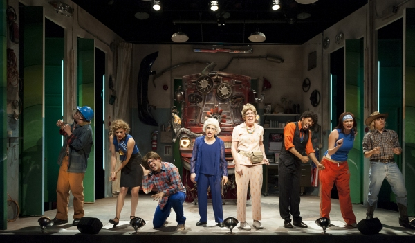 Photo Flash: Underground Railway Theater's CAR TALK: THE MUSICAL!!! Begins World Premiere
