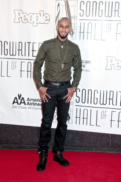 Swizz Beatz at Bette Midler, Constantine Maroulis, Cheyenne Jackson et al. at Songwriters Hall of Fame 2012 Gala